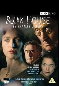 THE BLEAK HOUSE DVD BBC TV Drama Series Charles Dickens Gilian Anderson Sealed