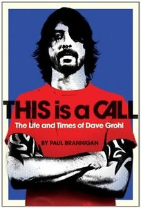 Dave Grohl-This Is a Call Large paperback in excellent condition
