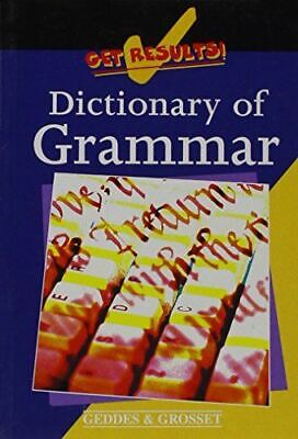 UsedVeryGood, Dictionary of grammar (Get results!), Author Unknown, Paperback