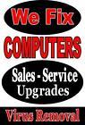 Computer Repair Sign