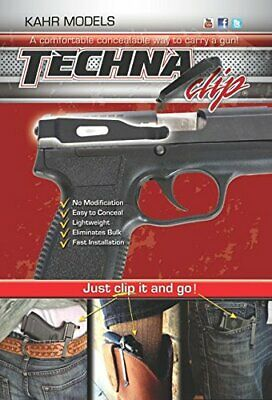Unique Concealment Carry Gun Belt Clip - Right Side Eliminates Bulk BESTSELLER