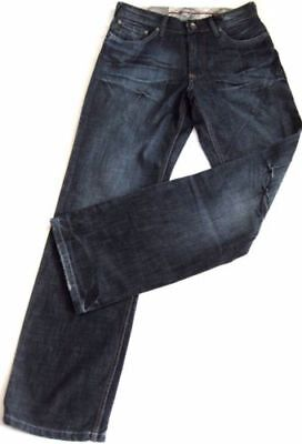Oklahoma Herren Jeans Crust modische junge Jeans premium Denim blue 31/30-38/34 Premium Herren Jeans