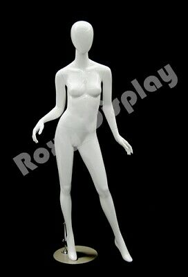 Fiberglass Female Mannequin Egghead Style Dress Form Display Md-a2w1--s