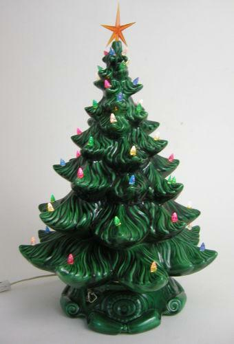 Musical Ceramic Christmas Tree Ebay