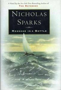 Message in a bottle good condition by Nicholas Sparks Adelaide CBD Adelaide City Preview