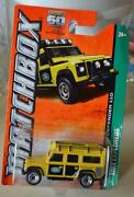 Matchbox Land Rover Defender