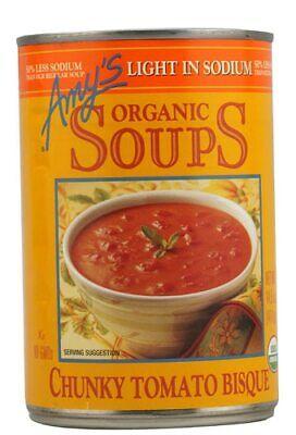 Amy's Organic Soup Light in Sodium Chunky Tomato Bisque -- 14.5 fl oz Organic Chunky Tomato Bisque