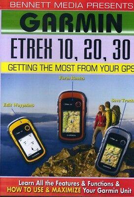 Garmin Etrex 10 20 30 [New (Garmin Dvd)