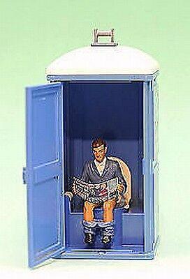 Prehm 500029   Mann auf Toilette   für Gartenbahn Spur G 1:22,5  Neu / Ovp