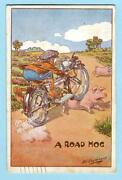 Motorcycle Postcard