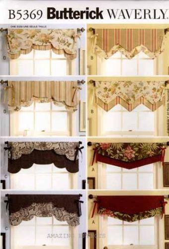 Window Valance Patterns | eBay