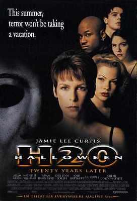 Halloween 7 Poster 01 Metal Sign A4 12x8 Aluminium ()