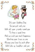 Wedding Cross Stitch Charts