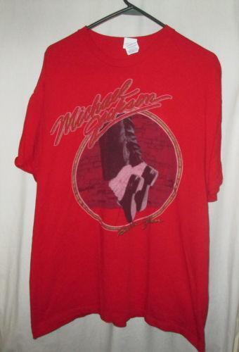 michael jackson vintage tshirt ebay