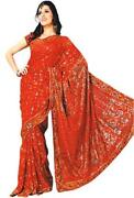 Saree Embroidery Bridal