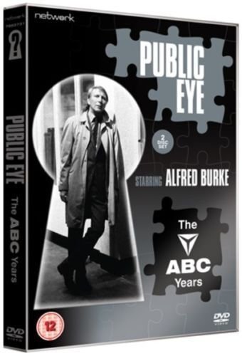 PUBLIC EYE : The ABC Years. Alfred Burke. 2 discs. New sealed DVD.