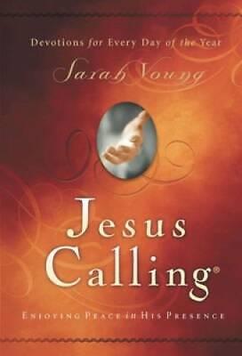 Jesus Calling: Enjoying Peace in His Presence - Hardcover - VERY GOOD