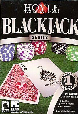 Computer Games - Hoyle Blackjack Series PC Games Windows 10 8 7 Vista XP Computer black jack card
