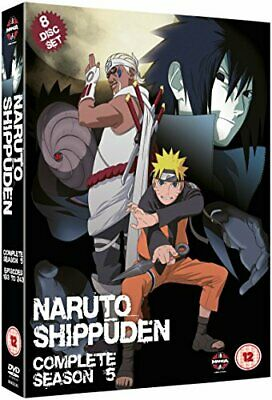 Naruto Shippuden Complete Series 5 Box Set (Episodes 193-244) [DVD][Region (Naruto Shippuden Complete Series 5 Box Set)