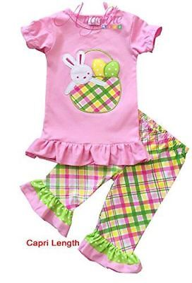 Angeline Boutique Girls Easter Bunny Outfit Clothing Set - Various Styles - Girl Clothing Boutique