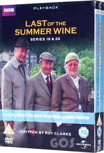 Last-Of-The-Summer-Wine-Complete-Series-19-20-DVD-BBC-TV-Comedy-Drama-New