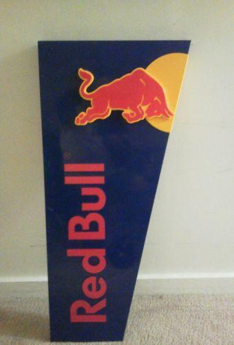Red Bull Sign Ebay