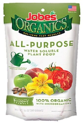 Jobes, 100 Pack, Organic All Purpose Fertilizer Spike