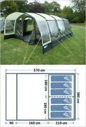 6 Berth Tunnel Tent