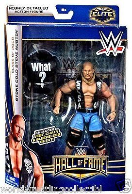 HALL OF FAME Stone Cold Steve Austin WWE MATTEL Elite Collection ACTION FIGURE