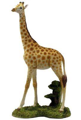 10 75  Giraffe Statue Sculpture Figure Wild Animal Figurine Safari Decor
