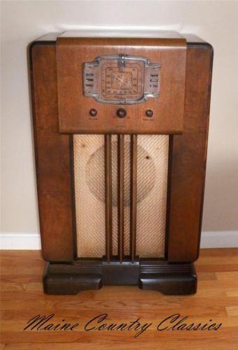 Rca Victor Console Radio Ebay