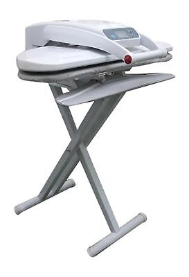 Large Ironing Press With Integrated Sleeveboard INCLUDES STAND!