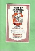Stamina Cards