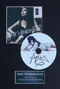 Amy Winehouse Signed