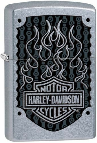 Zippo Harley Davidson Color Image Lighter With Harley Logo, 29157, New In Box