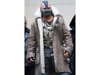 Bane's jacket for halloween leather coat size M
