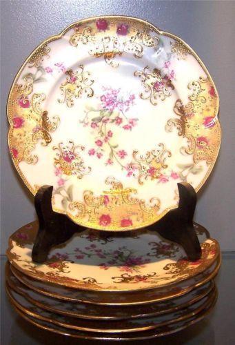 Hand Painted Nippon Plate Ebay