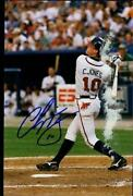 Chipper Jones Autographed Photo