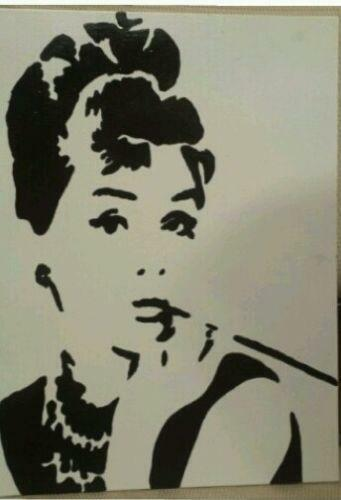 Audrey Hepburn Painting Ebay