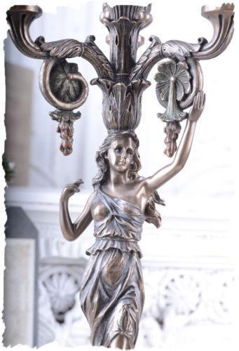 Partylite Kerzenständer Holz ~ Kerzenhalter Antik  eBay