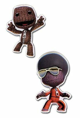 Pin Set - Little Big Planet - New Sack Boy (Set of 2) Anime Licensed ge6722