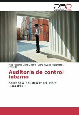 Auditoria de control interno.by Roberto  New 9783639732009 Fast Free Shipping.*=