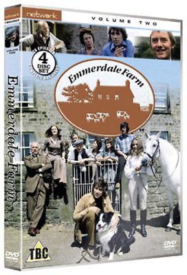 (EMMERDALE  FARM volume 2 two. Four disc set. New sealed DVD.)