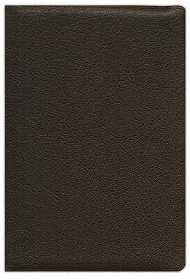 Heirloom Bible - ESV Heirloom Wide-Margin Reference Bible, Dark-Brown Goatskin Leather