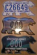 Northwest Territories License Plate