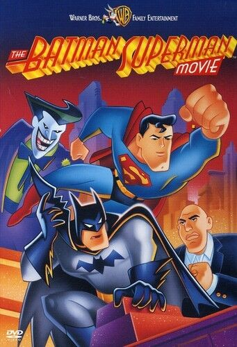 Batman Superman Movie (2007, REGION 1 DVD New)