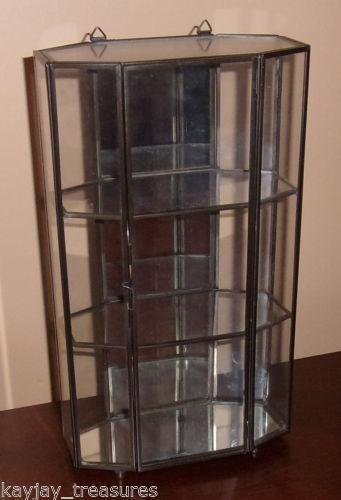 Vintage Glass Display Cabinet Ebay