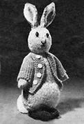 Peter Rabbit Knitting