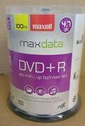 DVD R 100 Pack