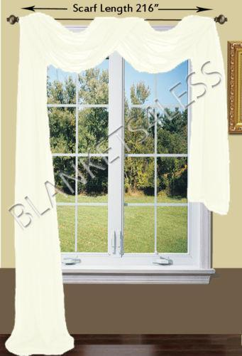 White Window Scarf Ebay